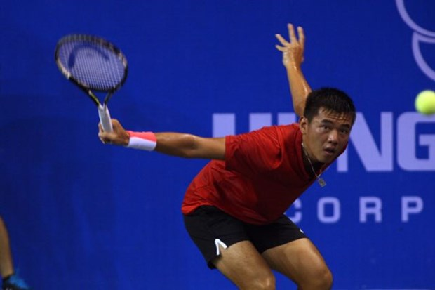 Top Vietnamese player eliminated from ATP Challenger Savannah hinh anh 1