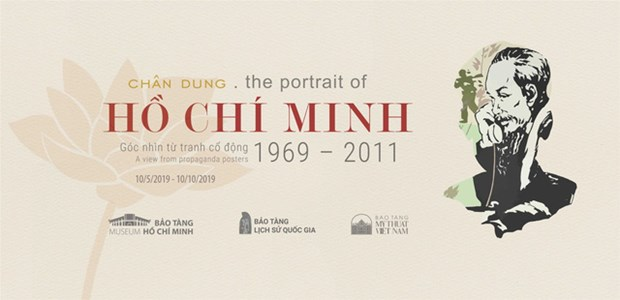 Poster exhibition portrays late President Ho Chi Minh hinh anh 1