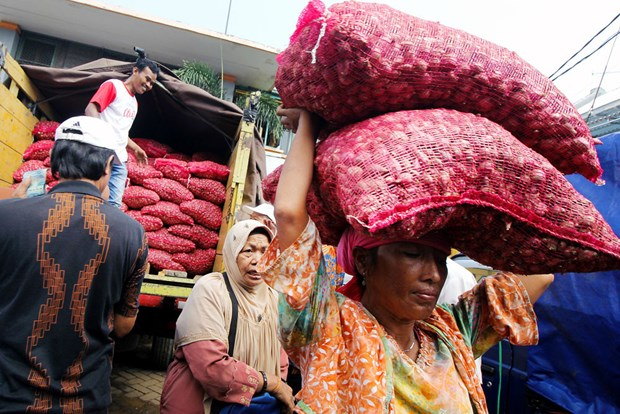 Indonesia assures sufficient staple food supply during Ramadan hinh anh 1