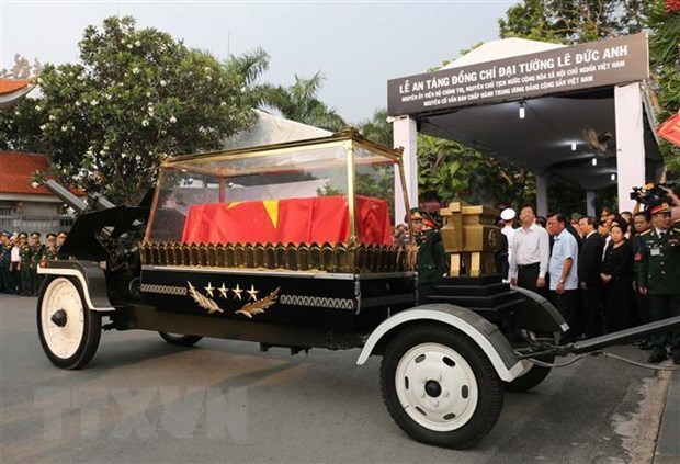 Former President Le Duc Anh remembered abroad hinh anh 1