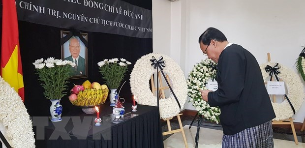 Respect-paying ceremonies held for former President in Myanmar, Netherlands hinh anh 1