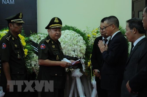 Foreign officials mourn former President Le Duc Anh's passing hinh anh 1