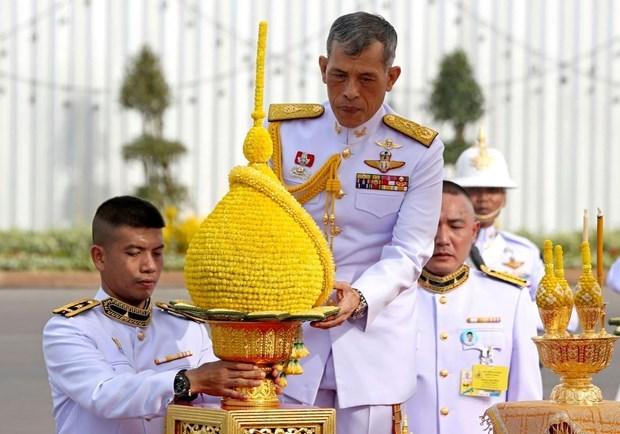 Thailand's King Maha Vajiralongkorn crowned hinh anh 1