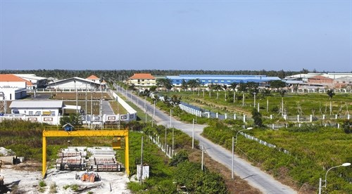 Tra Vinh province sees vigorous trade, industrial growth hinh anh 1