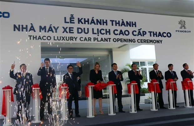 THACO inaugurates luxury car plant in Quang Nam hinh anh 1
