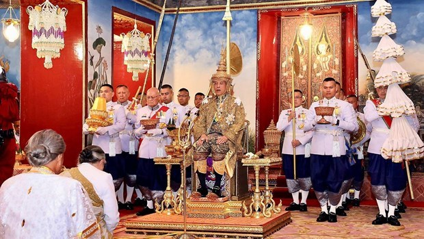 Party chief, President Nguyen Phu Trong congratulates Thai King on coronation hinh anh 1
