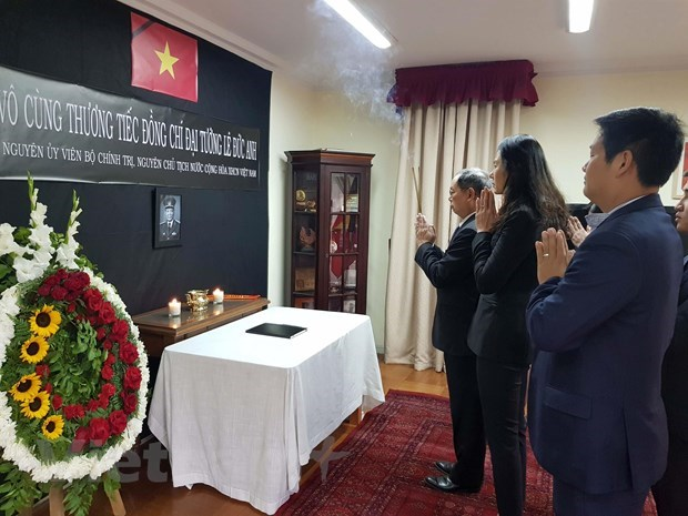 Respect paid to former President Le Duc Anh in Latin America, Africa hinh anh 1