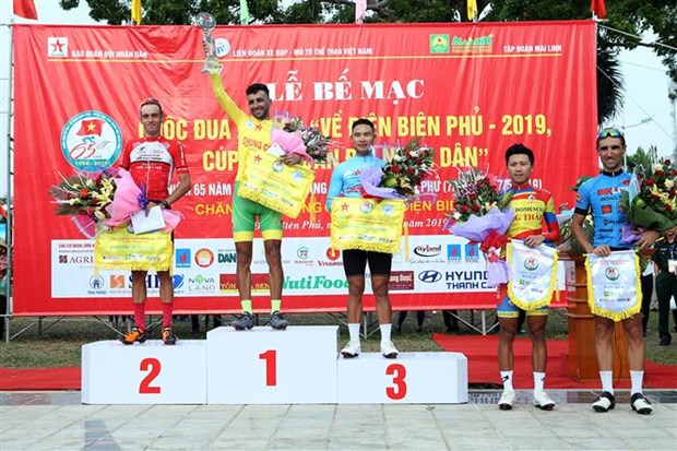 Cycling tourney celebrating Dien Bien Phu Victory wraps up hinh anh 1