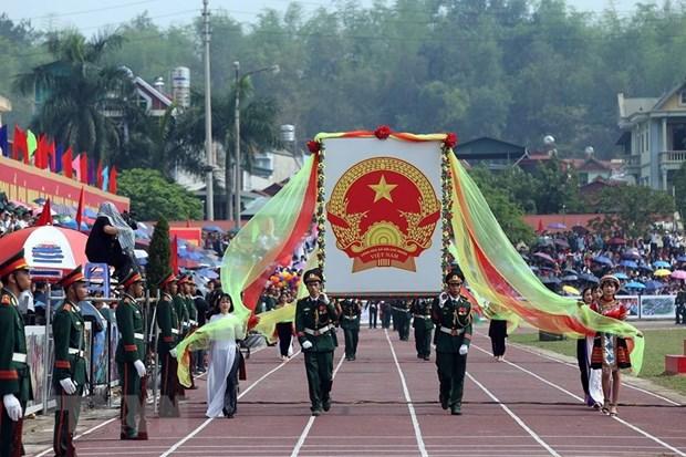 Dien Bien province celebrates major holidays hinh anh 1