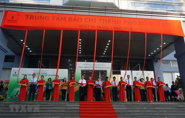 Ho Chi Minh City press centre put into operation hinh anh 1