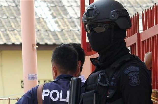 Indonesia kills one, arrests 7 over terror attack plot hinh anh 1
