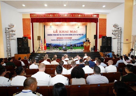 Pacific Partnership 2019 programme opens in Phu Yen hinh anh 1