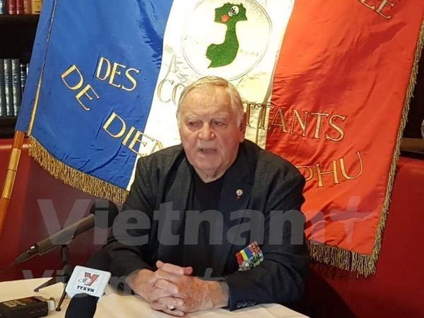 Dien Bien Phu campaign in French veteran's memory hinh anh 1
