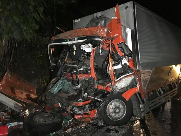Philippines: 3 killed, 73 injured in traffic collision hinh anh 1