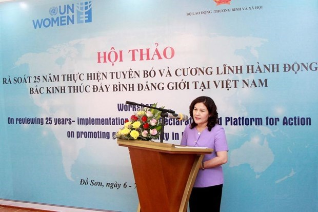 Rate of women parliamentarians in VN higher than global average hinh anh 1
