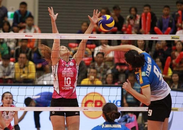 Kien Giang to host Binh Dien Int'l Women's Volleyball Tournament hinh anh 1