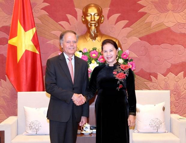 Top legislator hails growing Vietnam-Italy strategic partnership hinh anh 1