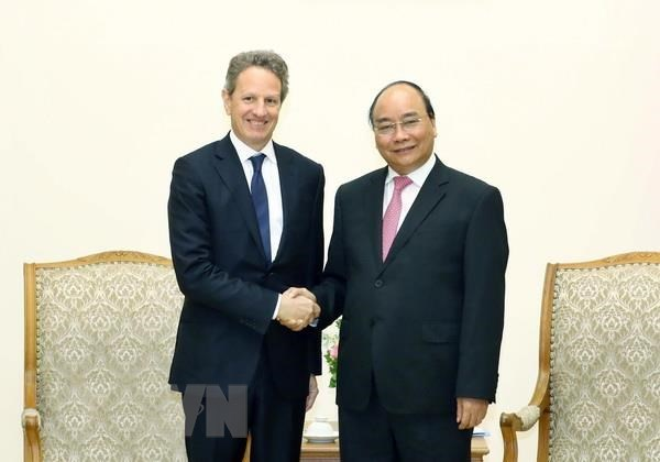 PM appreciates Warburg Pincus' investment in Vietnam hinh anh 1