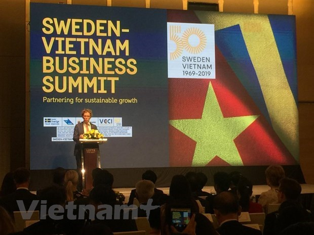 Vietnamese, Swedish firms talk partnership for sustainable growth hinh anh 1