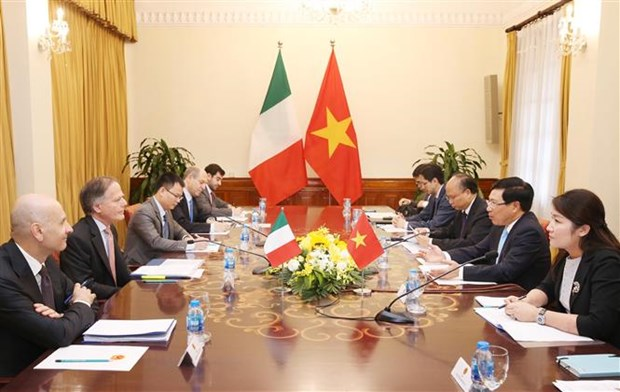 Vietnam, Italy seek to foster collaboration hinh anh 1