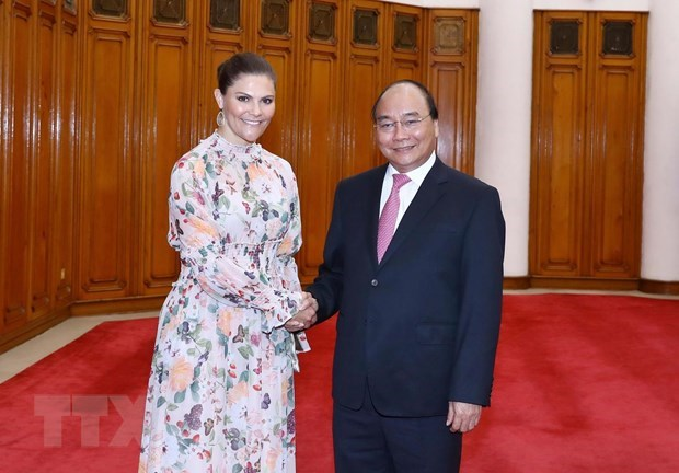 Government leader hosts Swedish Crown Princess hinh anh 1