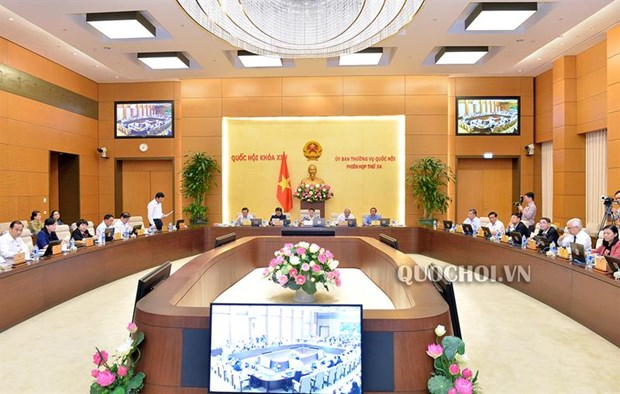 Legislators comment on Government's development reports hinh anh 1