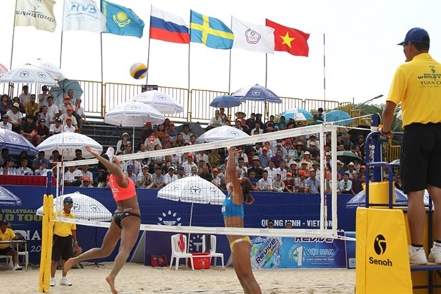 Beach volleyball tour to hit Quang Ninh province hinh anh 1