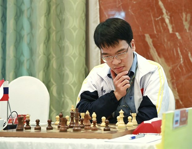 Vietnamese player suffers loss in Chinese Chess League Division hinh anh 1
