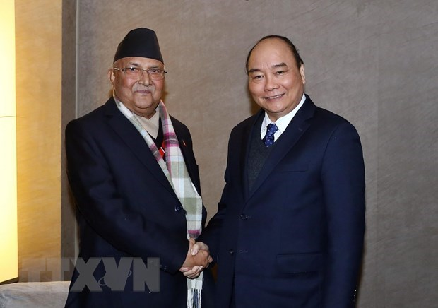 Nepali PM's visit hoped to strengthen friendship with Vietnam hinh anh 1