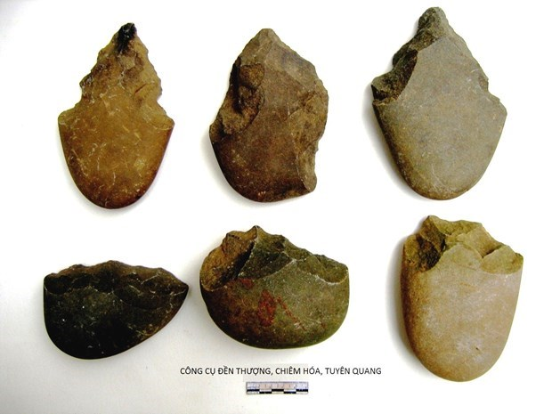 Primitive human traces found in Tuyen Quang province hinh anh 1