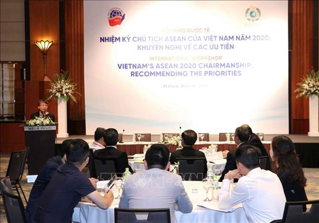 Workshop seeks priorities for Vietnam's ASEAN chairmanship term hinh anh 1