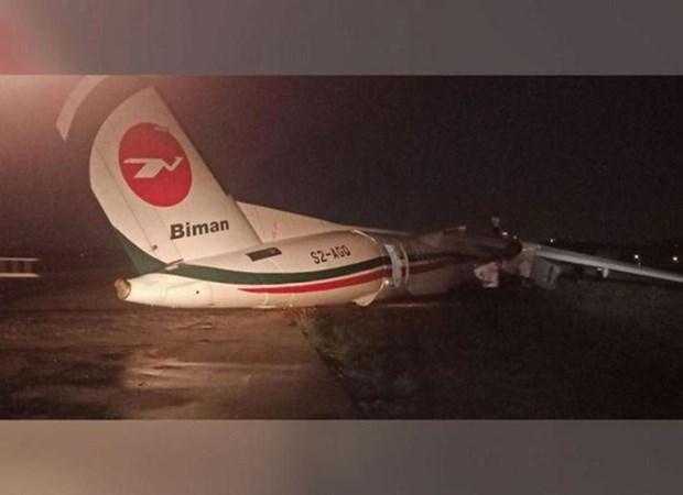 Myanmar: 11 injured as plane slides off runway hinh anh 1