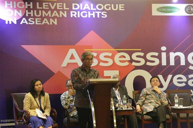 ASEAN bolsters cooperation in human rights hinh anh 1