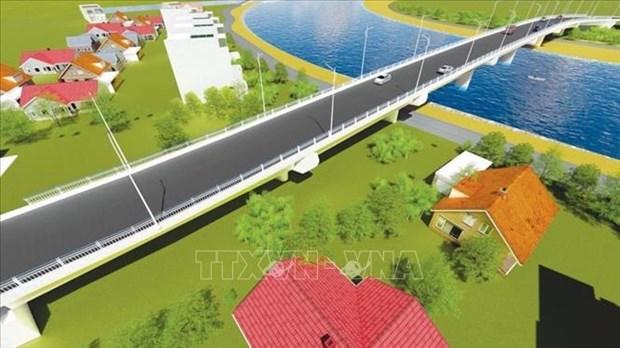 Work starts on bridge connecting Hai Phong to Thai Binh hinh anh 1