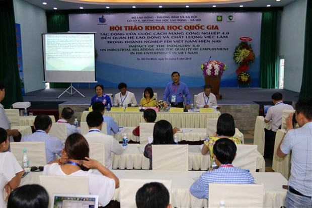 Labour relations in FDI firms amid industrial revolution discussed hinh anh 1