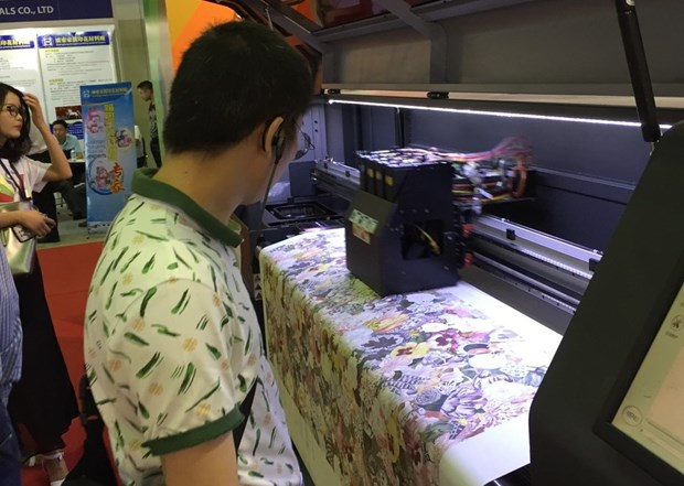 Screen, digital printing tech expo opens in HCM City hinh anh 1