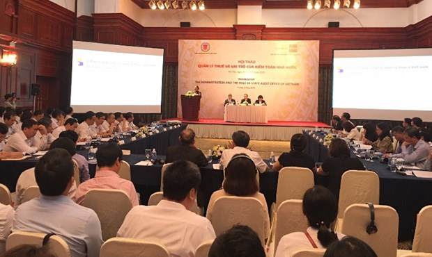 Workshop highlights state audit sector's role in tax management hinh anh 1