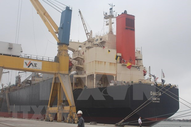 International container port inaugurated in Thanh Hoa hinh anh 1