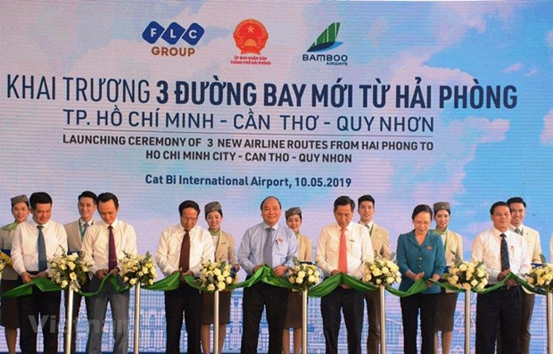 Bamboo Airways launches three air routes to Hai Phong hinh anh 1