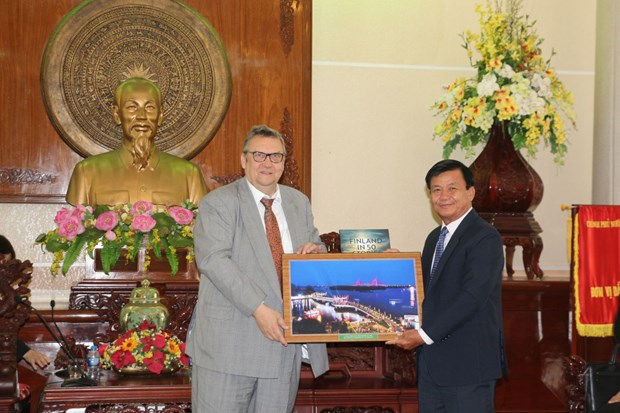 Finland helps Vietnam with waste management hinh anh 1