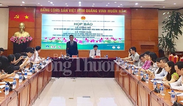 Outstanding events of 2018 National Target Programme announced hinh anh 1