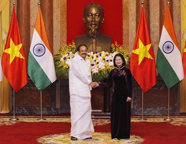 Vietnam, India work toward two-way trade of 15 billion USD hinh anh 1