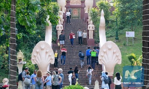 Chinese tourists to Cambodia continue to rise in Q1 hinh anh 1