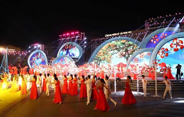 Hai Phong Red Flamboyant Flower Festival 2019 underway hinh anh 1