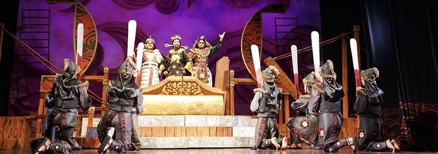 Traditional theatre festival opens in Thanh Hoa hinh anh 1