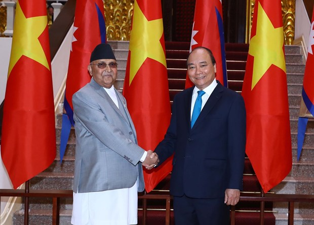 Vietnam, Nepal issue joint statement hinh anh 1