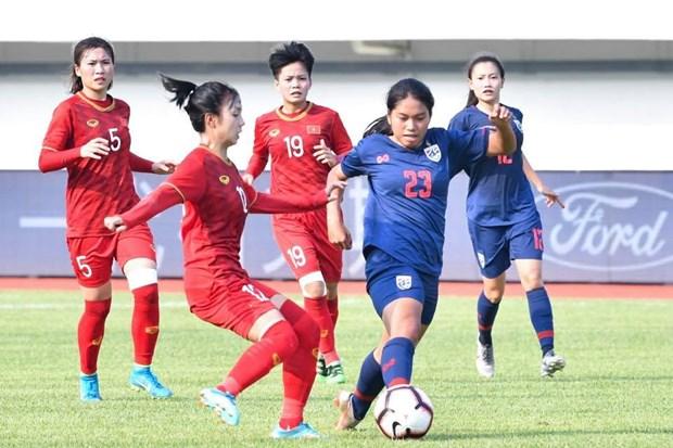 Vietnam U19 team tie goalless with Thailand hinh anh 1