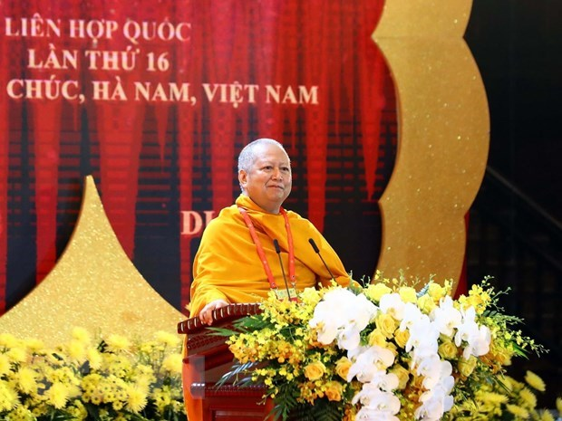 UN Day of Vesak 2019 solemnly opens in Ha Nam province hinh anh 3