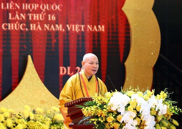 UN Day of Vesak 2019 solemnly opens in Ha Nam province hinh anh 2