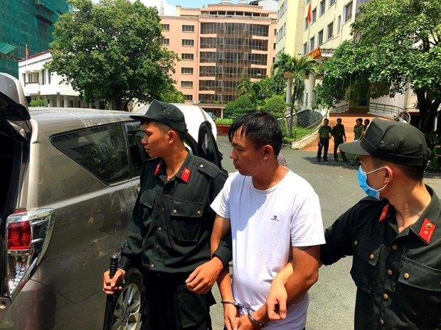 Trans-national drug traffickers arrested in HCM City hinh anh 1